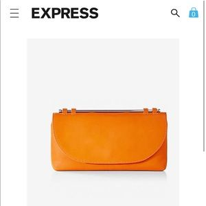 Express clutch    Sold out in stores